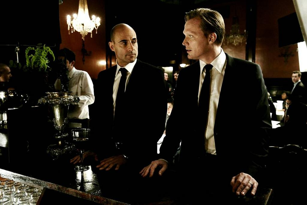 Mark Strong and Paul Bettany in Blood